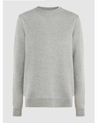 CLU - Mesh-trimmed Cotton Sweatshirt - Lyst