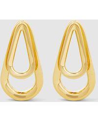 Annelise Michelson - Double Ellipse Gold Earrings - Lyst