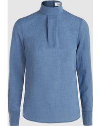 Cefinn - High Neck Long Sleeve Top - Lyst