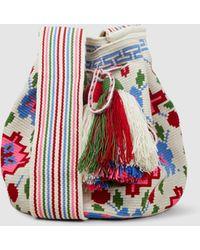 Muzungu Sisters - Wayuu Mochila Floral Bag - Lyst