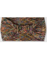 Missoni - Larga Zigzag Sash Wool-blend Turban - Lyst