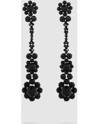 Simone Rocha - Crystal Drop Earrings - Lyst