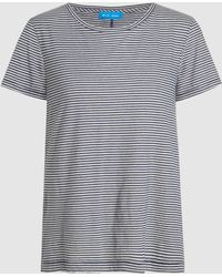 M.i.h Jeans - Nora Striped Cotton Tee - Lyst