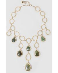 Rosantica - Scarabeo Agate Gold-tone Necklace - Lyst