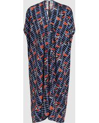 Zero + Maria Cornejo - Lena Printed Stretch-silk Dress - Lyst