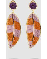 Mercedes Salazar - Paramo Leaf Earrings - Lyst