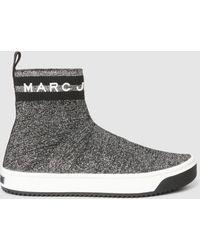 Marc Jacobs - Logo Dart Sock Sneakers - Lyst