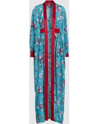F.R.S For Restless Sleepers - Icelos Silk Robe - Lyst