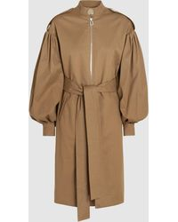 OSMAN - August Cotton-blend Twill Trench Coat - Lyst