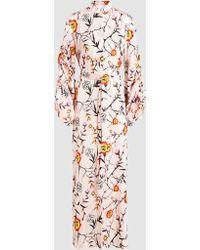 OSMAN - Shirt Dress Embroidered Kaftan - Lyst