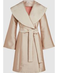 Co. - Bonded Satin-twill Coat - Lyst