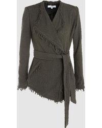 IRO - Schala Cotton-blend Tweed Jacket - Lyst