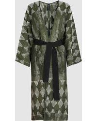 Zero + Maria Cornejo - Belted Kimono Coat - Lyst