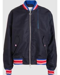 Mira Mikati - Hand Embroidered Bomber Jacket - Lyst