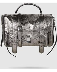 Proenza Schouler - Ps1+ Medium Leather Shoulder Bag - Lyst