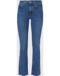 M.i.h Jeans - Daily Cropped Straight-leg Jeans - Lyst