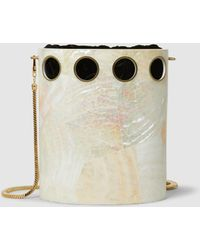 Nathalie Trad - Golding Cutout Shell Shoulder Bag - Lyst