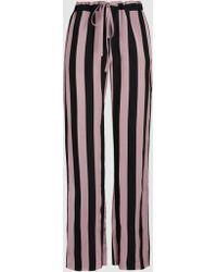 Marques'Almeida - Striped Satin-twill Pyjama Trousers - Lyst