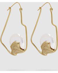 Ellery - Tsunami Oyster Earrings - Lyst
