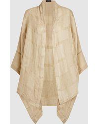 Eskandar - Linen Kimono Jacket - Lyst