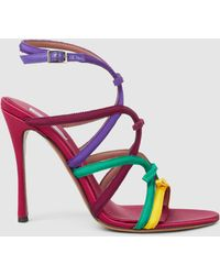 Tabitha Simmons - Bowrama Grosgrain Sandals - Lyst