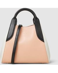 Lanvin - Leather Mini Tote - Lyst