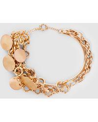 Preen By Thornton Bregazzi - Rennie Gold-tone Disc Necklace - Lyst