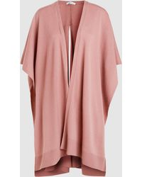 Palmer//Harding - Wool And Cashmere-blend Poncho - Lyst