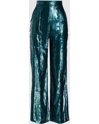 Michael Lo Sordo - Glitter Relaxed Velvet Trousers - Lyst ad023ab14