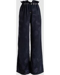 Mother Of Pearl - Earle Embellished Jacquard Trousers - Lyst