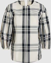 Sofie D'Hoore - Checked Top - Lyst