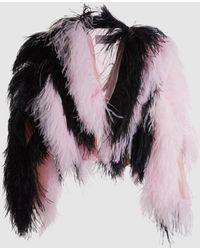 Marques'Almeida - Ostrich Feather Jacket - Lyst