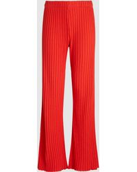 Simon Miller - Cyrene Ribbed Knitted Trousers - Lyst