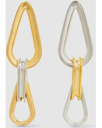 Annelise Michelson - Trilliptic Bicolour Loop Earrings - Lyst