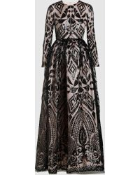 Huishan Zhang - Sequin Embroidered Gown - Lyst