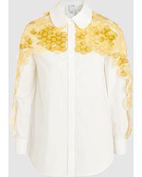 Huishan Zhang - Bo Sequinned Shirt - Lyst