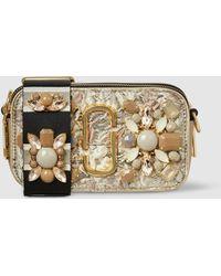 Marc Jacobs - Snapshot Embellished Floral Brocade Bag - Lyst