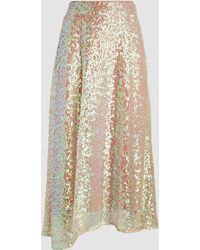 Rachel Comey - Gimlet Sequinned Midi Skirt - Lyst