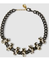 Erickson Beamon - Life In The Fast Lane Embellished Necklace - Lyst