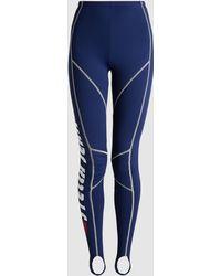 Stella Jean - Printed Stretch-jersey Leggings - Lyst