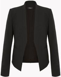Theory - Silk Sleeveless Shirt - Lyst