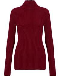 IRO - Tchop Ribbed Wool Turtleneck Sweater - Lyst