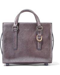 Rick Owens - Metallic Textured-leather Shoulder Bag - Lyst