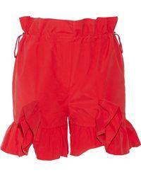 Goen.J - Ruffle Trim Shorts - Lyst