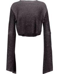 Ellery - Samurai Ribbed Merino Wool Sweater - Lyst
