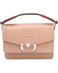 Paula Cademartori - Embossed Leather Mini Bag - Lyst