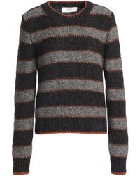 Vanessa Bruno Athé - Striped Knitted Sweater - Lyst