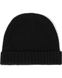 Autumn Cashmere - Ribbed-knit Beanie - Lyst