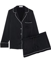Equipment - Lillian Washed-silk Pajama Set - Lyst