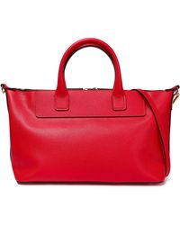 Marni - Textured-leather Tote - Lyst
